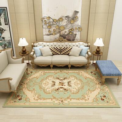 欧式地毯客厅卧室茶几垫沙发床边毯满铺地毯北欧美式长方形定制  2.0*3.0 加密加厚 发货周期:一般在付款后2-90天左右发货,具体发货时间请以与客服协商的时间为准