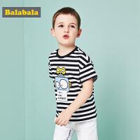 【每满200减100】巴拉巴拉童装夏装男童小童宝宝潮流短袖T恤卡通萌娃体恤