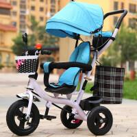 创意新款多功能儿童三轮车宝宝手推车1-3岁婴幼儿童脚踏车小孩自行车