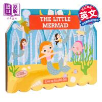 【中商原版】Pop Up Fairy Tale : The Little Mermaid 立体童话:小美人鱼 低幼启蒙益