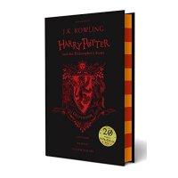 哈利波特 英文原版 精装 Harry Potter and the Philosopher's Stone Gryffindor 哈利波特与魔法石 精装【英文原版 格兰芬多20周年纪念版 JK罗琳】