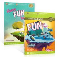 【全店300减100】英文原版 Fun for Flyers Student's Book 家庭趣味练习册第4版剑桥小学