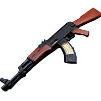 电动玩具枪男孩玩具冲锋枪电动枪儿童玩具枪声光机关枪 标配