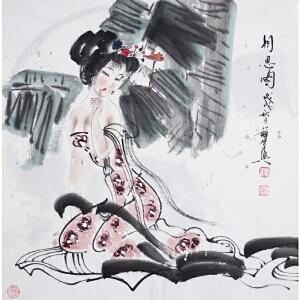 薛林兴《花相伴》国家一级美术师