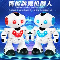 遥控机器人电动机器人会唱歌会跳舞儿童玩具男孩礼物玩具智能
