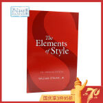 风格的要素 英文原版 The Elements of Style 实用的英文写作指导 进口工具书 英语美文 SAT托福