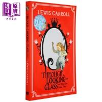 【中商原版】爱丽丝梦游仙境:镜中奇缘 Alice Through the Looking Glass 故事书 插图童书