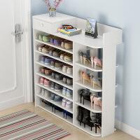 门扉 鞋柜 门口多层小鞋架子简易家用省空间鞋柜特价经济型多功能仿实木宿舍