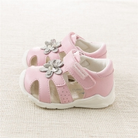 夏季女童皮凉鞋 宝宝凉鞋 儿童关键鞋