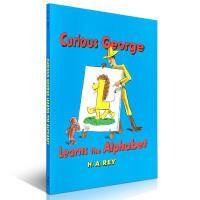 英文原版绘本 Curious George Learns the Alphabet 好奇猴乔治学字母 H. A. Re