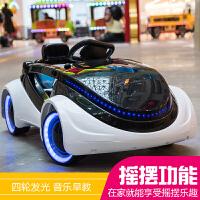 小孩子车子四轮摇摆汽车儿童电动车四轮带遥控摇摆宝宝婴儿可坐玩具车小孩电动童车汽车