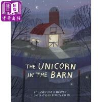 【中商原版】谷仓里的独角兽 英文原版 The Unicorn in the Barn 精装 儿童文学小说