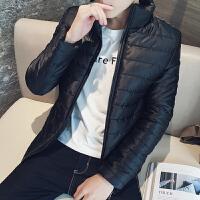 慈姑冬季外套男士2017新款冬装韩版潮流帅气棉衣短款羽绒加厚棉袄