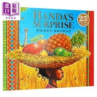 【中商原版】汉达的惊喜 Handa's Surprise 25周年纪念版 廖彩杏书单第15本 吴敏兰书单第113本 Ei