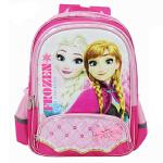 迪士尼 冰雪奇缘小学生1-4年级书包儿童双肩背包 SP20268