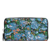 【当当自营】蔻驰(COACH)新款女士花卉印花手拿包卡包钱包  F57966