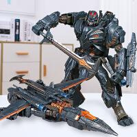 男孩�和�套�b全套 �形玩具金��5�w�C汽��形�C器人模型�鹗�