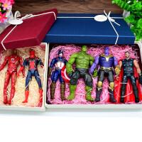 复仇者联盟3战争蚁人2模型钢铁侠蜘蛛侠玩具人偶摆件 公仔现货