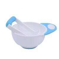 婴儿辅食工具 果泥研磨碗套装宝宝辅食工具婴幼儿便携辅食碗勺碾碎器手动肉菜泥O