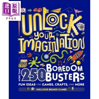 【中商原版】DK:想像无限 Unlock Your Imagination 儿童科普 亲子绘本 DK儿童读物 插图童书
