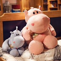 软抱枕犀牛毛绒公仔抱抱熊女生可爱公主抱睡娃娃少女心粉
