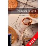 Oxford Bookworms Library: Level 4: Treasure Island audio 牛津