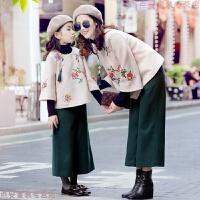 过年唐装儿童周岁宝宝新年衣服男童拜年服女童汉服中国风童装冬 醉蝶花唐装套装