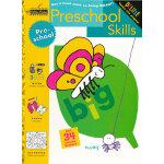Preschool Skills (Pre-school, Little Golden Book) 学龄前技能(金色童书,学龄前练习册)9780307036674