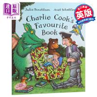 【中商原版】查理库喜爱的书 Charlie Cook's Favourite Book Big Book 地板书