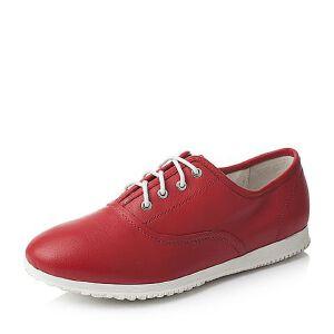 Teenmix/天美意春季专柜同款牛皮时尚休闲女单鞋6G722AM6