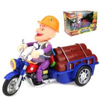 美高乐 熊出没电动玩具车 光头强的动力三轮摩托车MG023