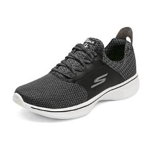 【11月12-13日大牌返场 狂欢继续】Skechers斯凯奇GO WALK4女轻质 松紧带 健步鞋 运动休闲鞋 14916