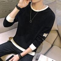 男士长袖T恤男秋季韩版修身体恤青年秋衣打底衫衣服男装潮流卫衣