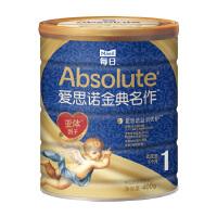 每日爱思诺金典名作婴儿配方奶粉1段配方罐装牛奶粉400g