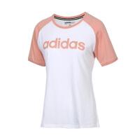 adidas/阿迪达斯女款2019夏季新款休闲半袖透气运动运动T恤DW7949