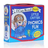 英文原版绘本 Little Critter Phonics Fun my first i can read 自然拼读1