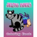 【预订】Amazing Animals Coloring Book