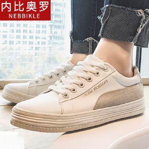 韩版百搭小白鞋男潮鞋透气板鞋2018新款男士休闲鞋