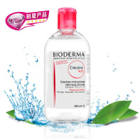 Bioderma贝德玛卸妆水温和舒妍 粉瓶500ml大容量--温和滋润中干性肌肤适用