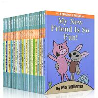 【全店900减300】英文原版书 Elephant and & Piggie 【25册】全套小猪小象系列 吴敏兰进口正版