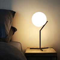 床头柜灯卧室台灯创意浪漫个性简约现代北欧装饰桌灯