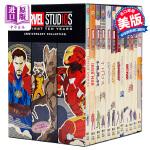 【中商原版】漫威工作室10周年小说套装 英文原版 Marvel Studios: The First Ten Year