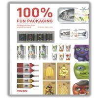 FUN PACKAGING趣味包装 平面包装结构 装饰设计书籍 日常用品包装 超大视图 英文原版