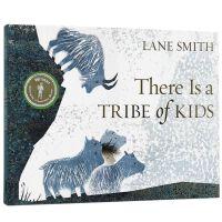 2017年凯特・格林纳威大奖 英文原版There Is a Tribe of Kids 一个部落的孩子 平装 亲子阅读