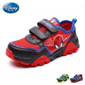 【99元任选2双】迪士尼Disney童鞋新款中小童跑步鞋男女童网布鞋学生鞋户外运动鞋  DS2271