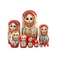 20180528065757373玛仕卡俄罗斯十层套娃手工情人节新年礼物哈尔滨旅游纪念工艺品