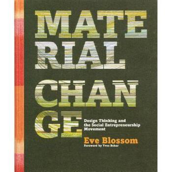 【预订】Material Change: Design Thinking and the Social 美国库房发货,通常付款后3-5周到货!