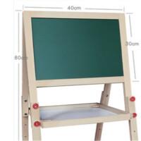 儿童画板双面磁性小黑板支架式家用宝宝画画涂鸦写字板画架可升降礼品