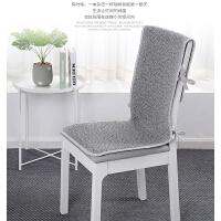 椅子坐垫靠垫一体四季餐桌椅垫套装