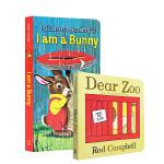 【发顺丰】英文原版 I am a bunny / dear zoo 我是一只小兔子 / 亲爱的动物园 2册套装纸板翻翻